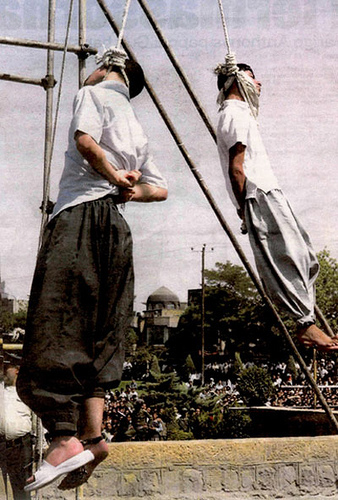 hanged marhoni ayaz Mahmoud and asgari