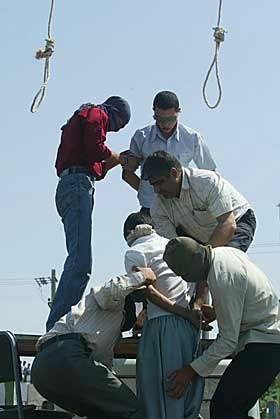 ayaz hanged marhoni asgari Mahmoud and