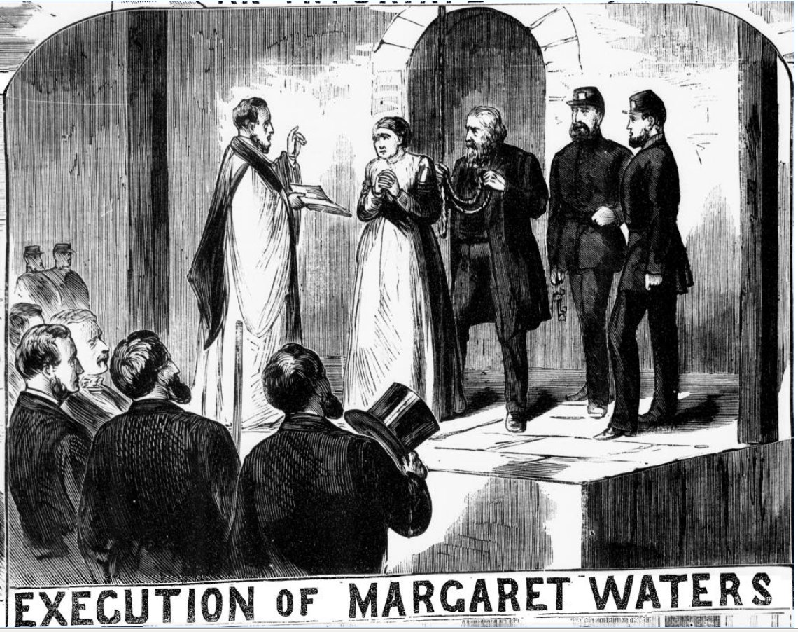 Waters' case dominates the cover of the Oct. 15, 1870 Illustrated ...