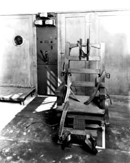 The original Florida electric chair. & ExecutedToday.com » 1924: Frank Johnson the first electrocuted in ...