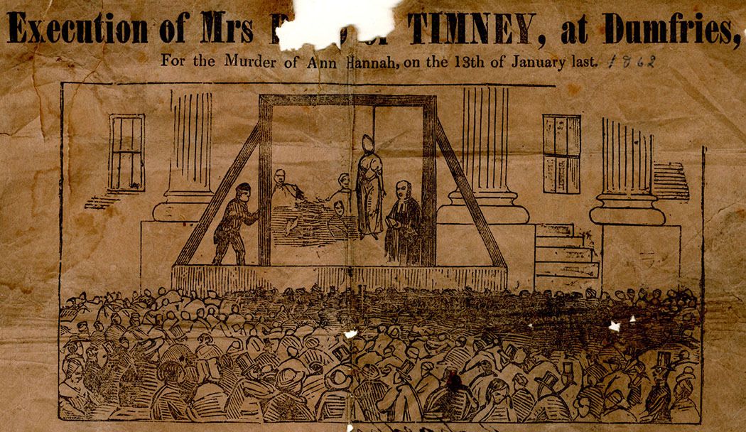 ExecutedToday com » 1862: Mary Timney, the last woman