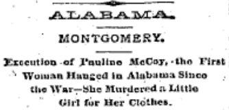 Alabama Outlaws Murders