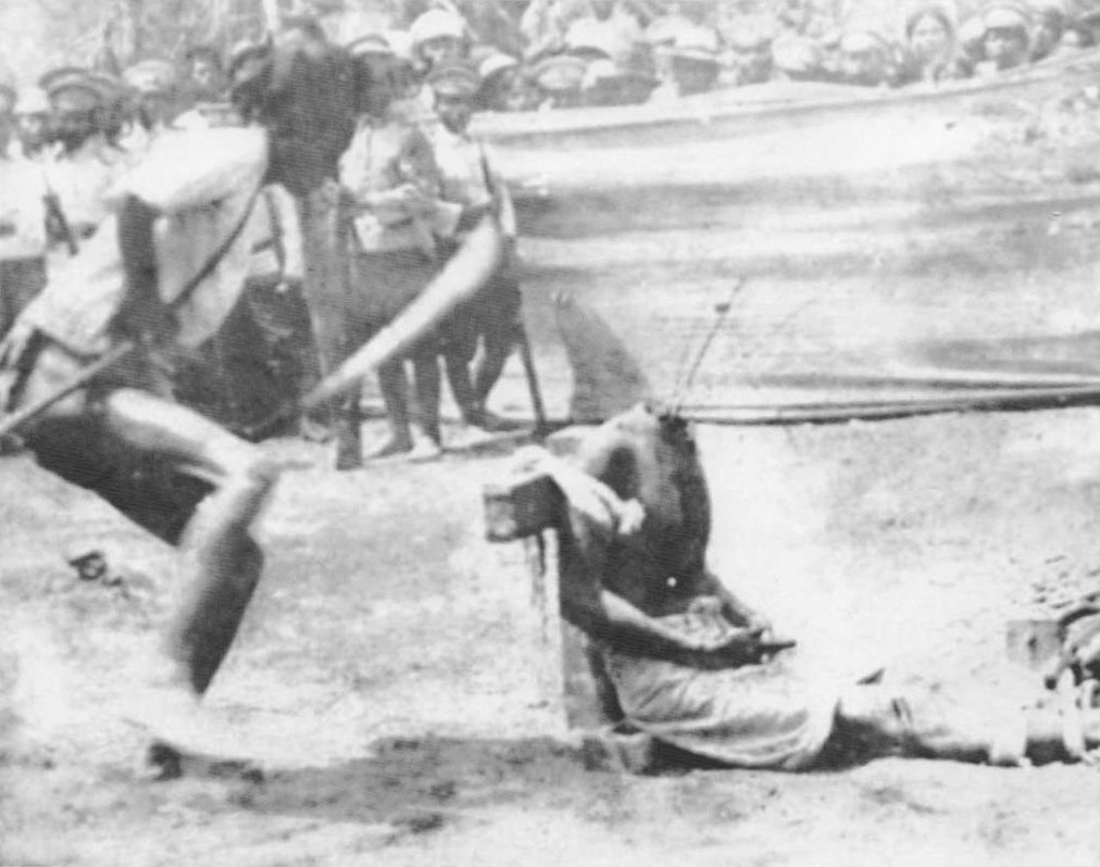 1919: Boonpeng Heep Lek, the last public beheading in Thailand