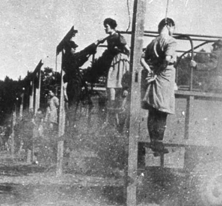 Nazi Women Hanged http://www.fold3.com/page/286061325_stutthof_concentration_camp/