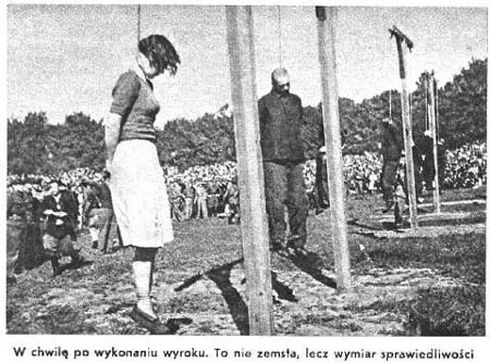 Nazi Women Guards Being Hanged http://www.executedtoday.com/2008/07/04/1946-stutthof-concentration-camp-jenny-wanda-barkmann-gerda-steinhoff-johann-paul/