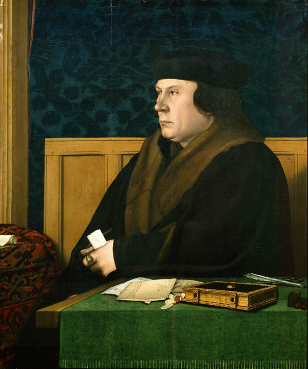 Holbein's portrait of Tom Cromwell, courtesy of executedtoday.com