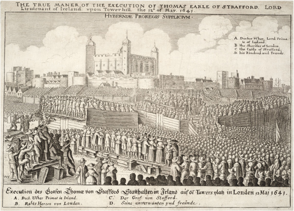 ... Wentworth was beheaded on Tower Hill to ...